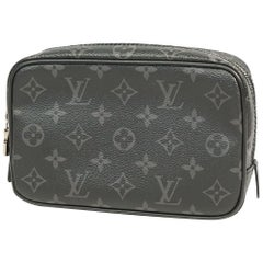 LOUIS VUITTON Trousse toilette 20 Mens pouch M43384 black