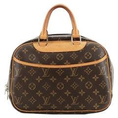 Louis Vuitton Trouville Handbag Monogram Canvas