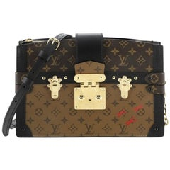 Louis Vuitton Trunk Clutch Reverse Monogram Canvas