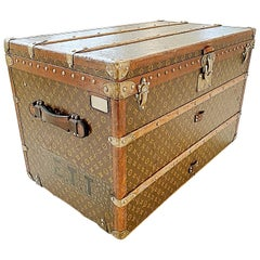Louis Vuitton Trunk from High Nobility House of Thurn & Taxis, 1910s, France