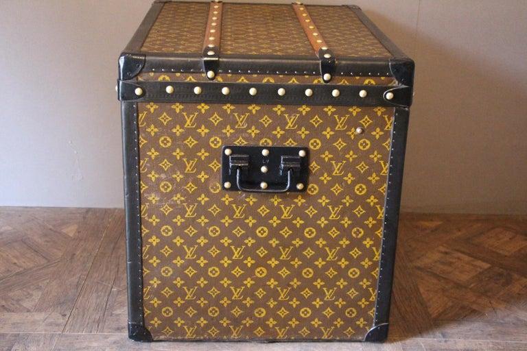 Louis Vuitton Trunk, Louis Vuitton Hat Trunk, Louis Vuitton Steamer Trunk For Sale 3