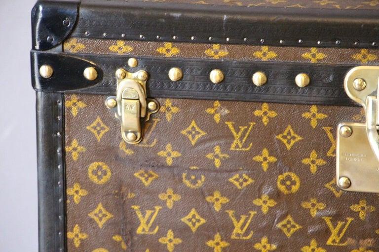 Art Deco Louis Vuitton Trunk, Louis Vuitton Hat Trunk, Louis Vuitton Steamer Trunk For Sale