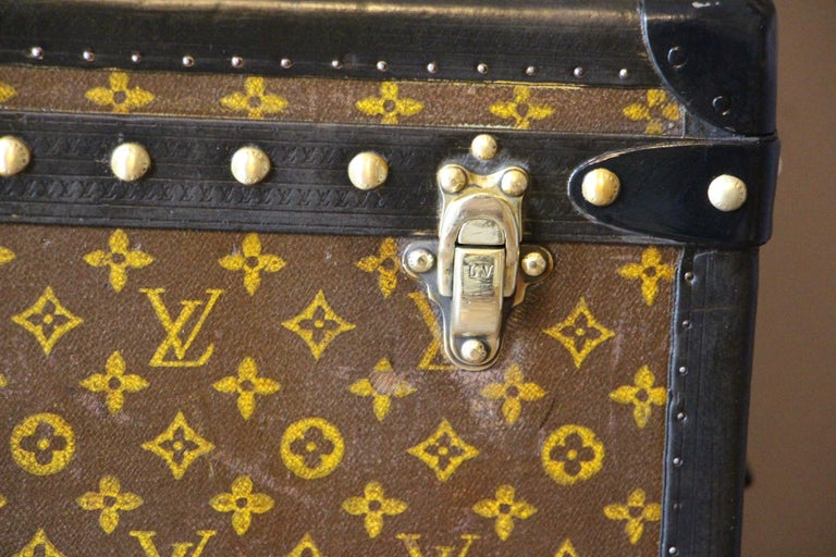 Louis Vuitton Trunk, Louis Vuitton Hat Trunk, Louis Vuitton Steamer Trunk In Good Condition For Sale In Saint-Ouen, FR