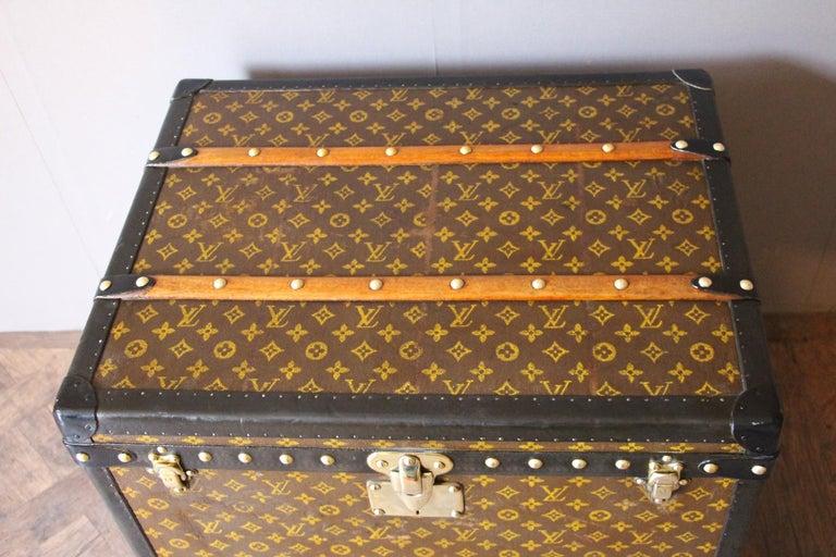 Early 20th Century Louis Vuitton Trunk, Louis Vuitton Hat Trunk, Louis Vuitton Steamer Trunk For Sale