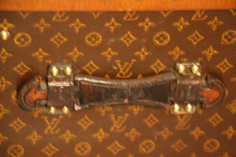 Early 20th Century Louis Vuitton Trunk, Louis Vuitton Steamer Trunk, Louis Vuitton Hat Trunk For Sale