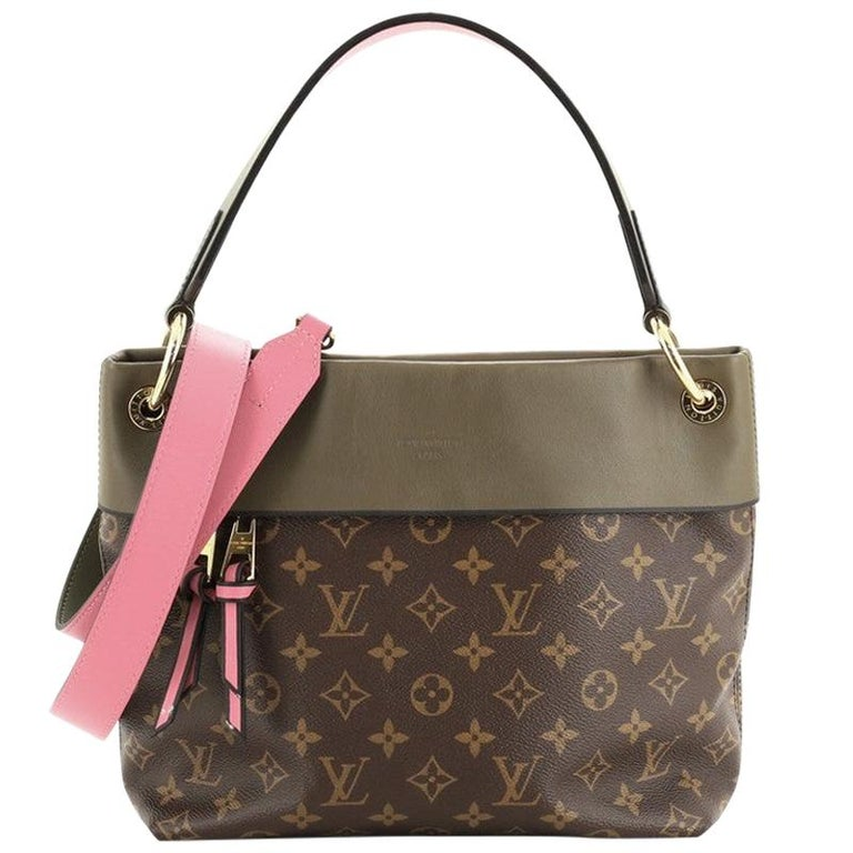Louis Vuitton Tuileries Besace Bag Monogram Canvas with Leather For Sale