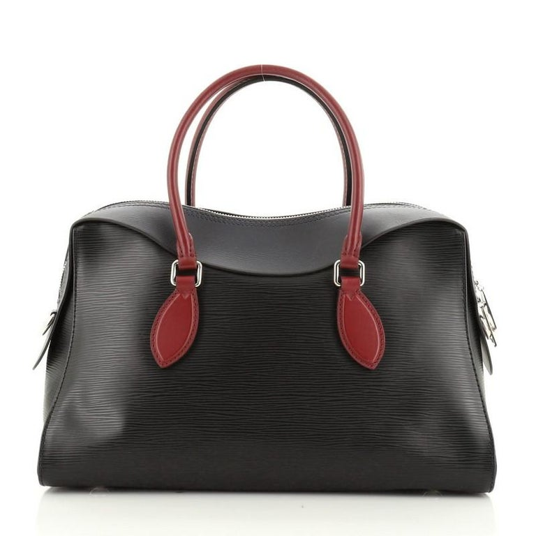 Louis Vuitton Tuileries Handbag Epi Leather In Good Condition For Sale In New York, NY