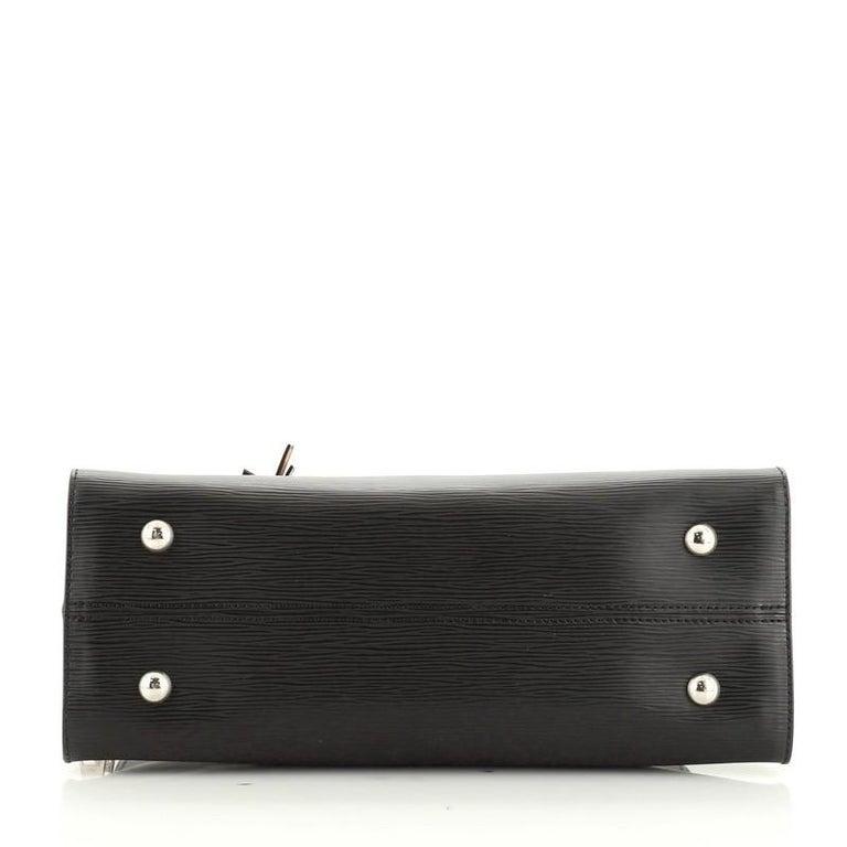 Women's or Men's Louis Vuitton Tuileries Handbag Epi Leather For Sale