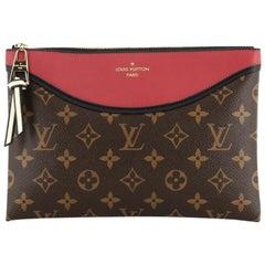 Louis Vuitton Tuileries Pochette NM Monogram Canvas with Leather