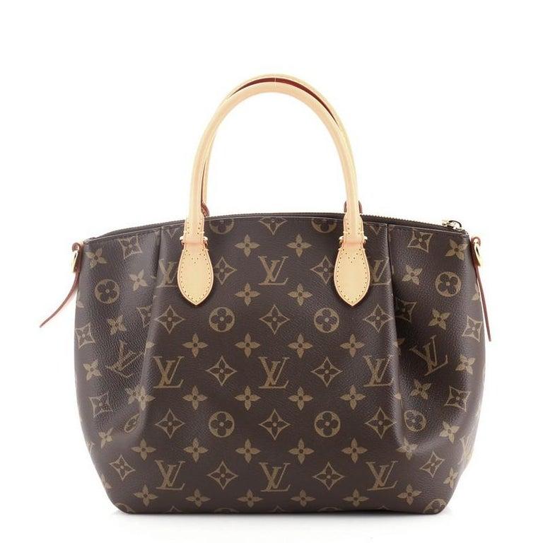 Black Louis Vuitton Turenne Handbag Monogram Canvas PM
