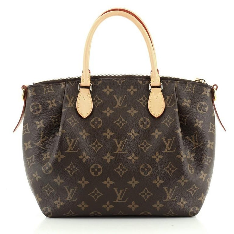 Black Louis Vuitton Turenne Handbag Monogram Canvas PM