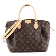 Louis Vuitton Turenne Handbag Monogram Canvas PM