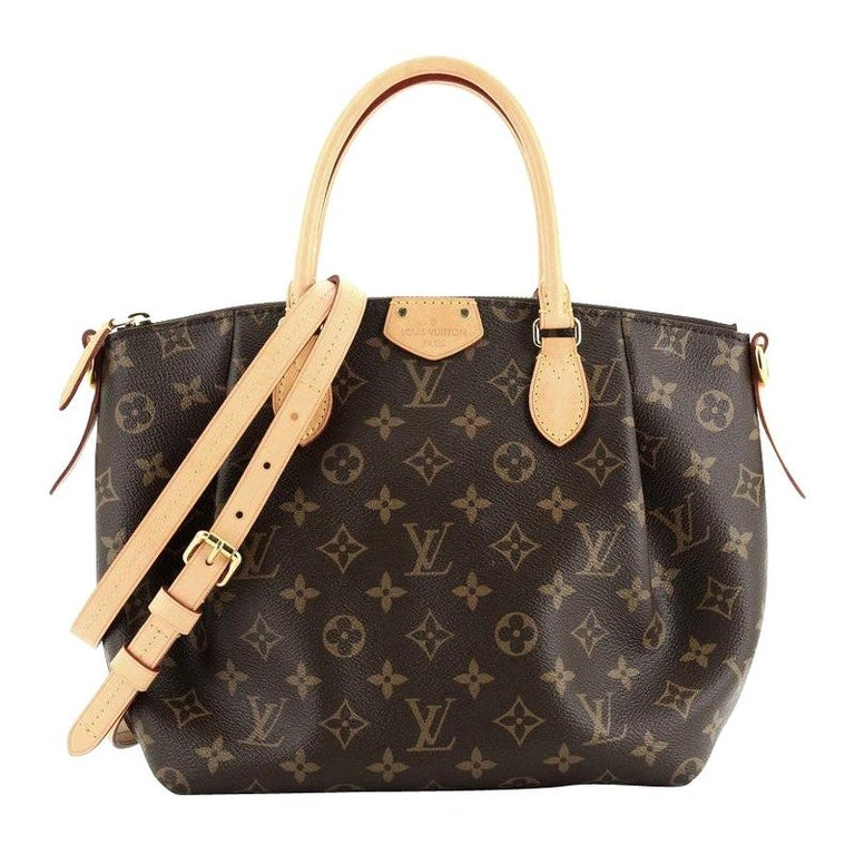 Louis Vuitton Turenne Handbag Monogram Canvas PM