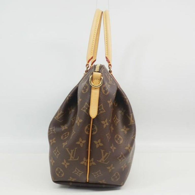 An authentic LOUIS VUITTON Turenne MM Womens handbag M48814 The outside material is Monogram canvas. The pattern is TurenneMM. This item is Contemporary. The year of manufacture would be 2016. Rank A Good Condition Used goods that have little bit