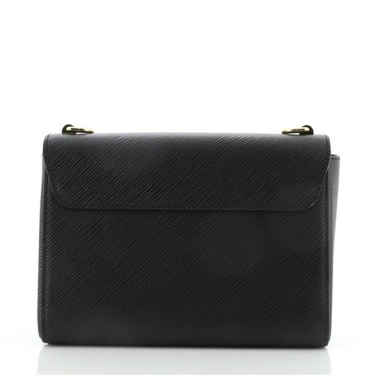 Women's or Men's Louis Vuitton Twist and Twisty Handbag Epi Leather MM For Sale