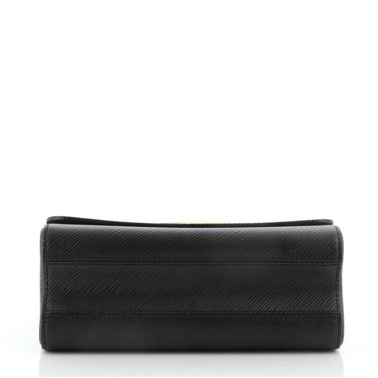 Louis Vuitton Twist and Twisty Handbag Epi Leather MM For Sale 1