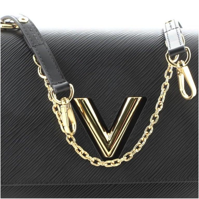 Louis Vuitton Twist and Twisty Handbag Epi Leather MM For Sale 3