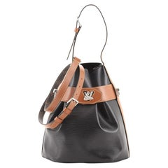 Louis Vuitton Twist Bucket Bag Epi Leather