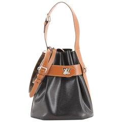 Louis Vuitton Twist Bucket Bag Epi Leather