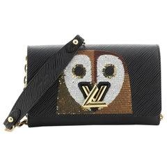 Louis Vuitton Twist Chain Wallet Bird Motif Epi Leather