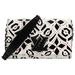 Louis Vuitton Twist Chain Wallet Limited Edition Graphic Leather