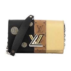 Louis Vuitton Twist Chain Wallet Limited Edition Monogram Canvas