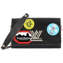 Louis Vuitton Twist Chain Wallet Limited Edition World Tour Epi Leather
