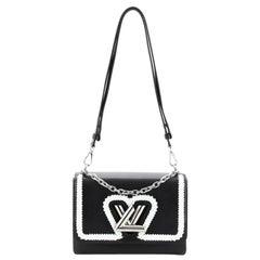 Louis Vuitton Twist Convertible Handbag Whipstitch Epi Leather MM