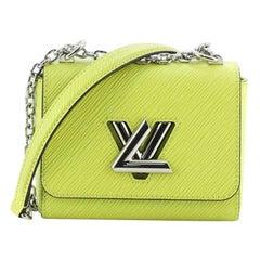 Louis Vuitton Twist Handbag Electric Epi Leather Mini