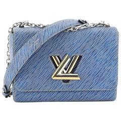 Louis Vuitton Twist Handbag Electric Epi Leather MM