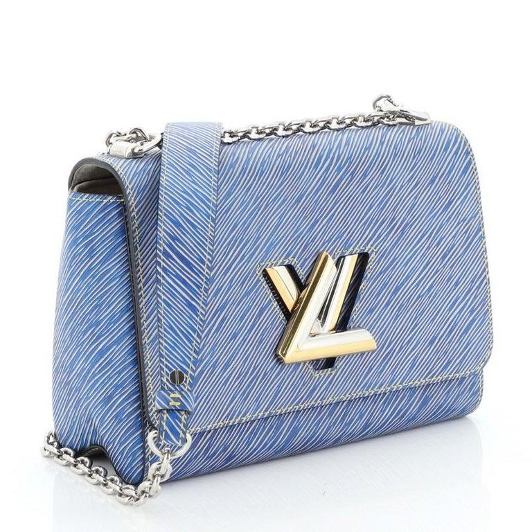 Women's or Men's Louis Vuitton Twist Handbag Epi Leather MM  For Sale