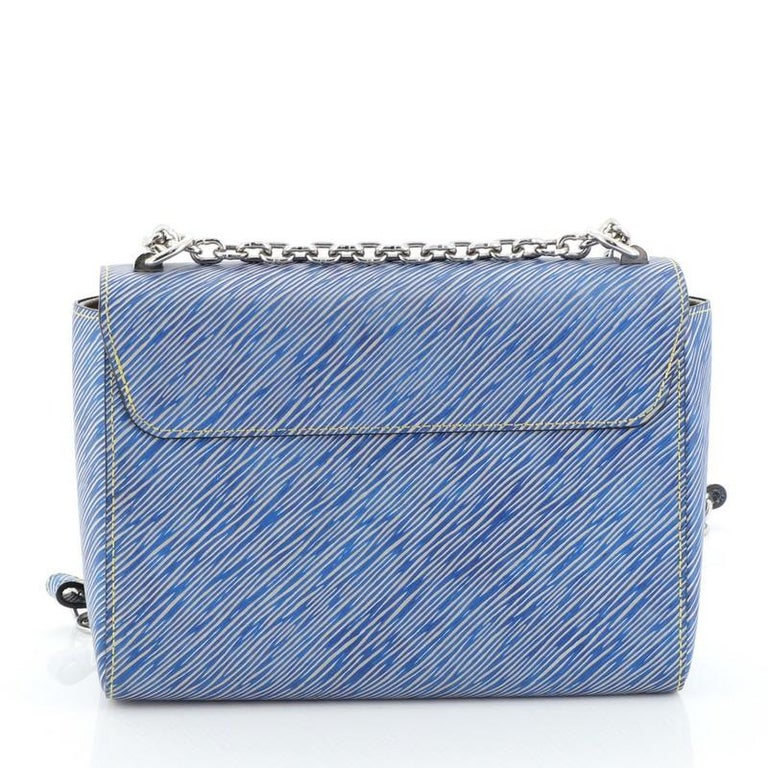 Louis Vuitton Twist Handbag Epi Leather MM  For Sale 1