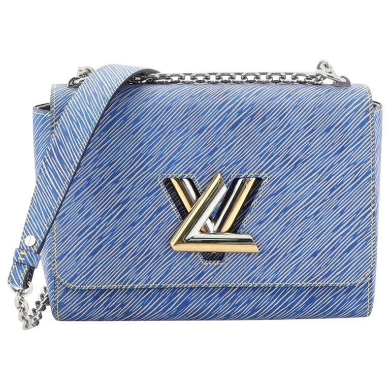 Louis Vuitton Twist Handbag Epi Leather MM  For Sale