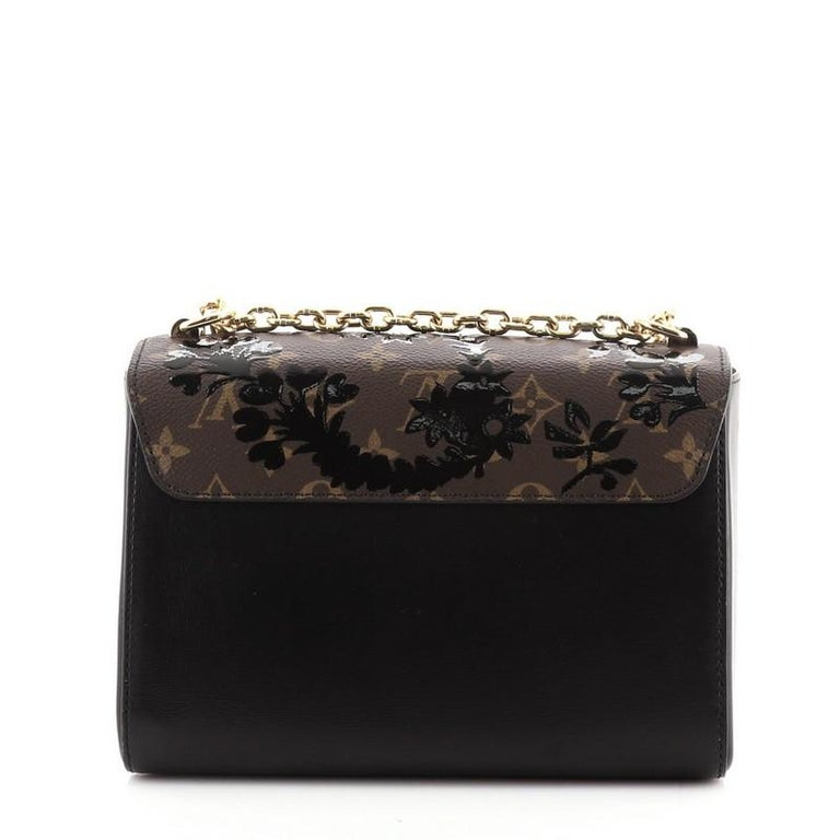 Women's or Men's Louis Vuitton Twist Handbag Limited Edition Blossom Monogram Canvas MM For Sale