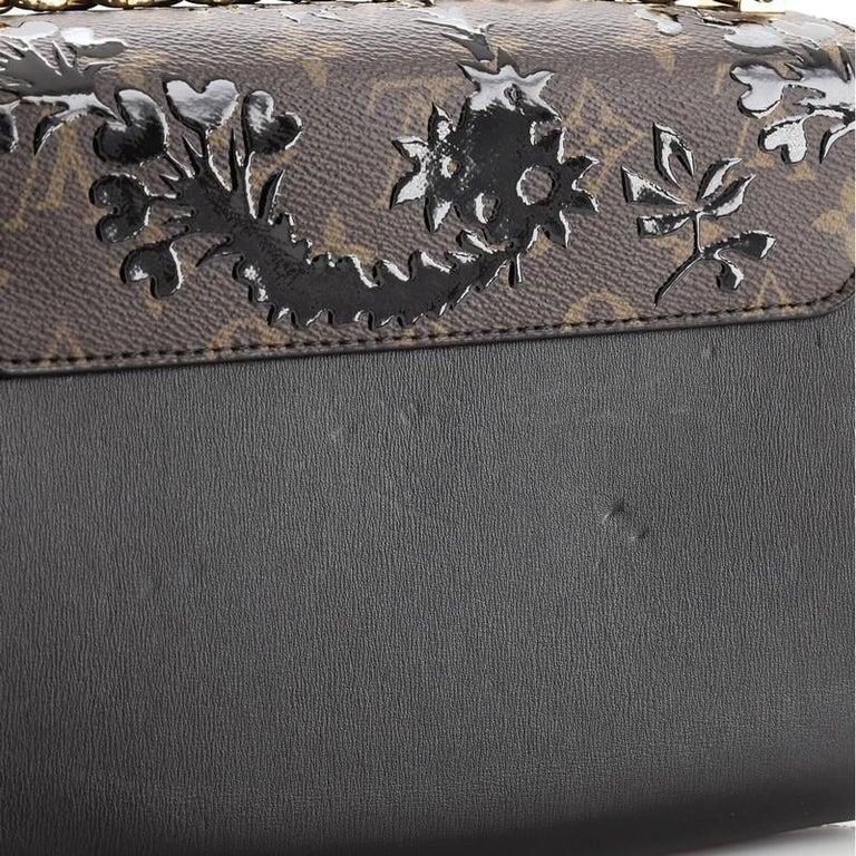 Louis Vuitton Twist Handbag Limited Edition Blossom Monogram Canvas MM For Sale 5