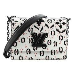 Louis Vuitton Twist Handbag Limited Edition Graphic Leather MM
