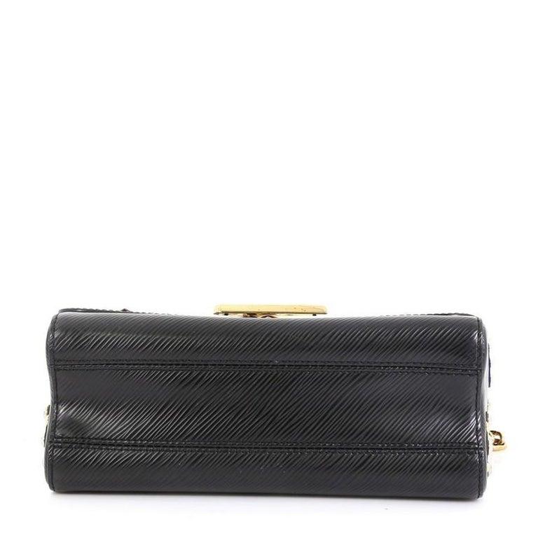 Women's Louis Vuitton Twist Handbag Limited Edition Mechanical Flowers Epi Leather MM For Sale