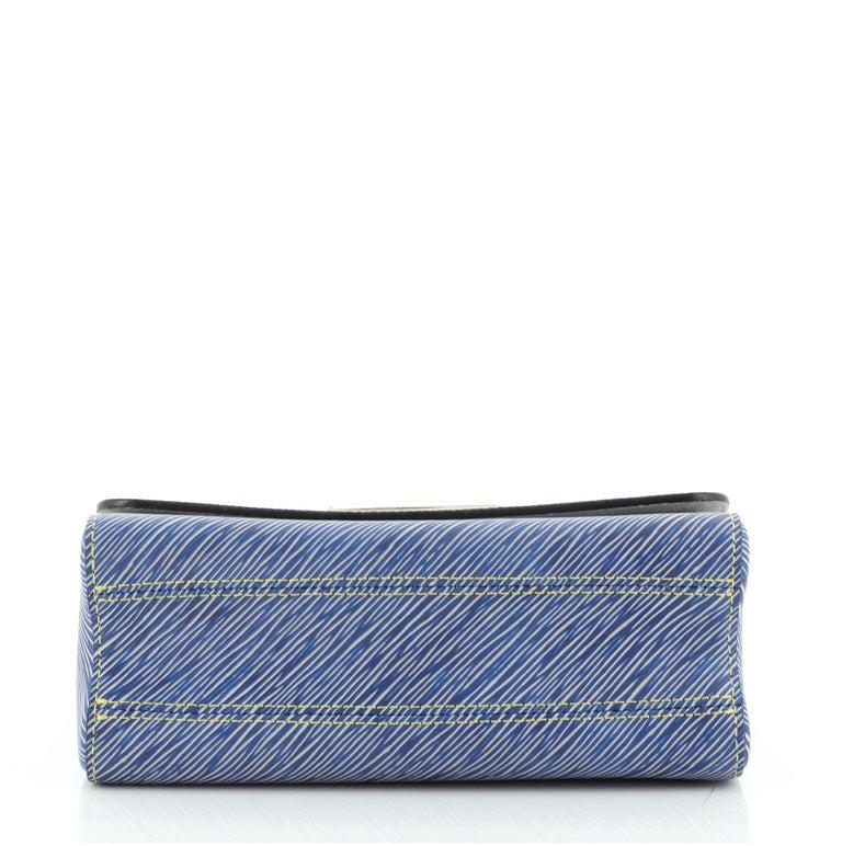 Women's Louis Vuitton Twist Handbag Limited Edition Pin Embellished Epi Leather MM