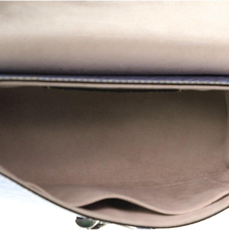Louis Vuitton Twist Handbag Limited Edition Pin Embellished Epi Leather MM 1