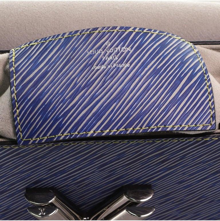 Louis Vuitton Twist Handbag Limited Edition Pin Embellished Epi Leather MM 2