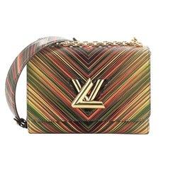 Louis Vuitton Twist Handbag Limited Edition Tropical Epi Leather MM