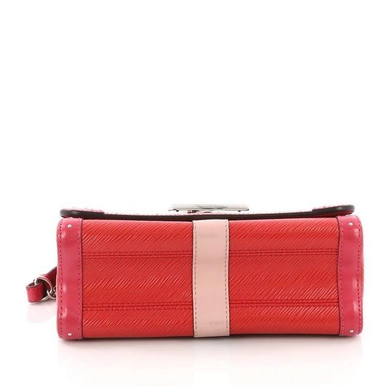 Louis Vuitton Twist Handbag Limited Edition Trunks Epi