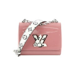 Louis Vuitton  Twist Handbag Limited Edition Vernis with Monogram