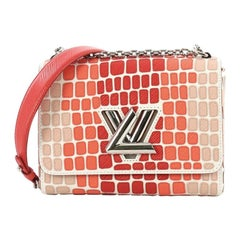 Louis Vuitton Twist Handbag Patchwork Epi Leather MM
