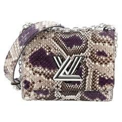 Louis Vuitton Twist Handbag Python PM