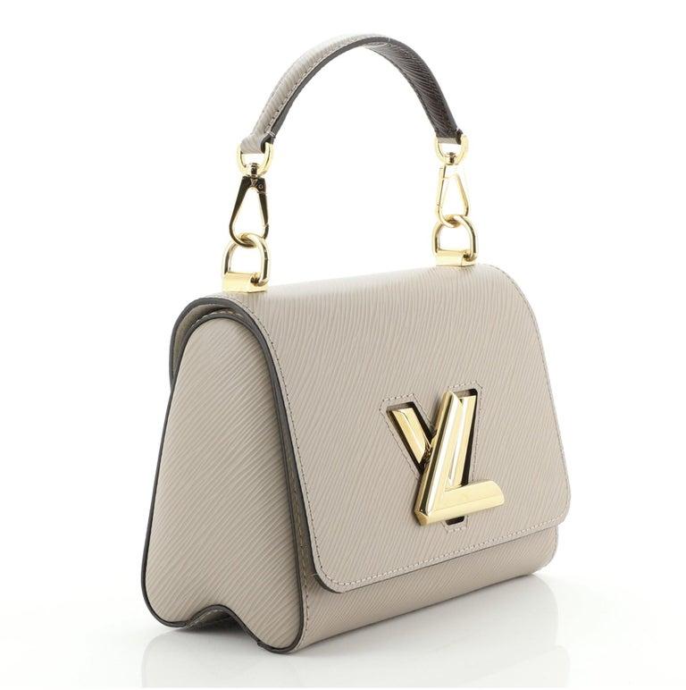 Brown Louis Vuitton Twist NM Handbag Epi Leather PM