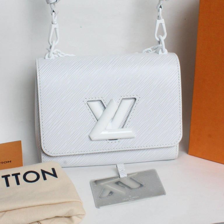Louis Vuitton Twist PM Bag White Epi Leather New In Box  For Sale 1