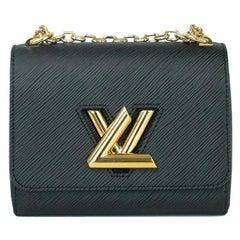 LOUIS VUITTON Twist pm Shoulder bag in Black Leather
