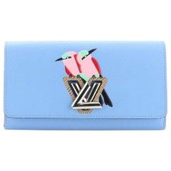 Louis Vuitton Twist Wallet Bird Motif Epi Leather