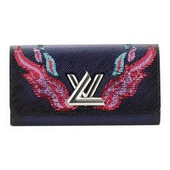 Louis Vuitton Twist Wallet Epi Leather with Sequins